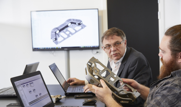 Valuable experience from the automotive industry and tool construction benefits FRECON's customers