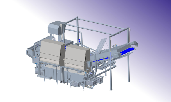 FRECON is sparring partner in the design of a larger food processing line