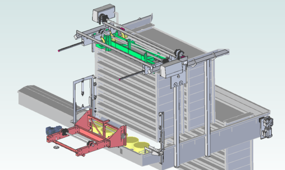 FRECON brings extensive experience with mechanical design for the food industry in new dairy project