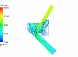 Strong CFD skills in FRECON boost development work at Keofitt