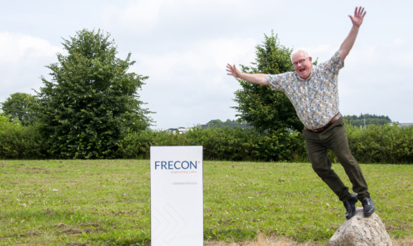 FRECON's colorful captain turns 60