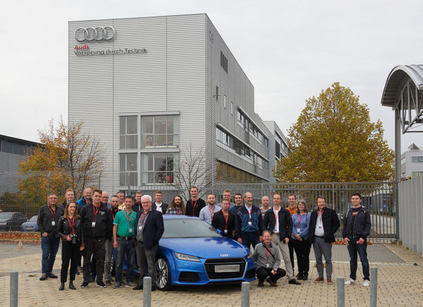 FRECON at AUDI_Mechanical engineers_Györ_Hungary_Oct 2019