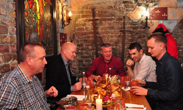 FRECON_ Mechanical engineers_Medieval restaurant_Budapest_Hungary_Oct 2019