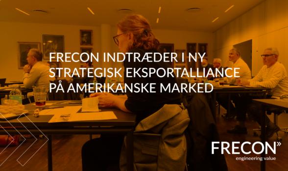FRECON i grøn eksportalliance om energieffektive løsninger til det amerikanske marked